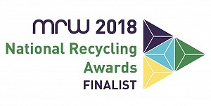National Recycling Awards Finalist Logo
